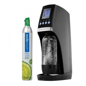 SodaStream Revolution Starter Kit Black-Silver