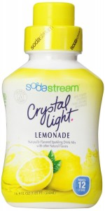 SodaStream Crystal Light Lemonade Syrup 500mL