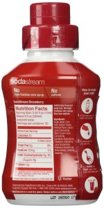 SodaStream Strawberry Syrup 500mL Size