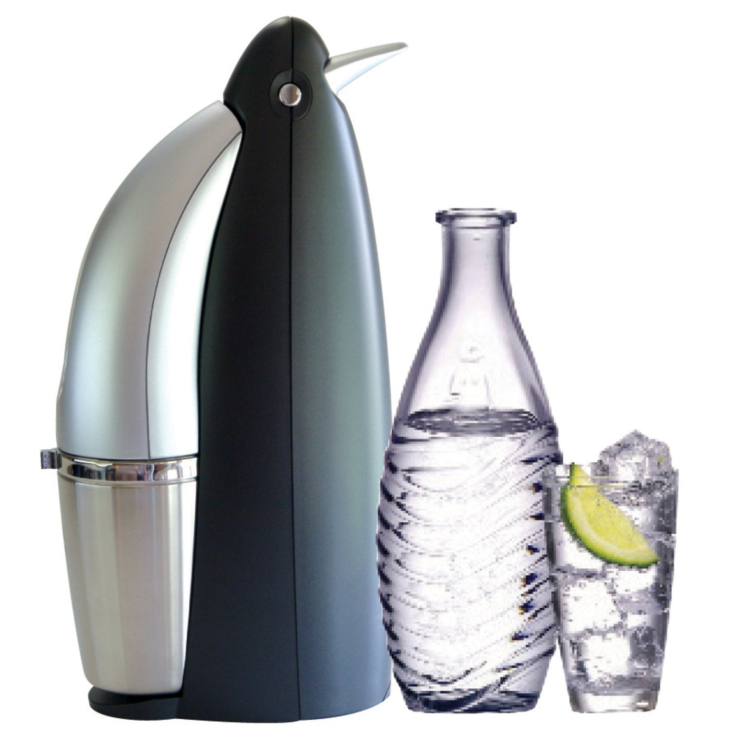 sodastream penguin. Black Bedroom Furniture Sets. Home Design Ideas