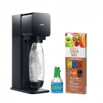 SodaStream Play Home Soda Maker Starter Kit Black
