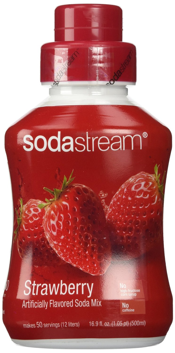 SodaStream Strawberry Syrup